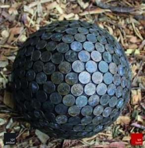 Bozuk Para Topları SPR AMBAR_penny ball SPR AMBAR