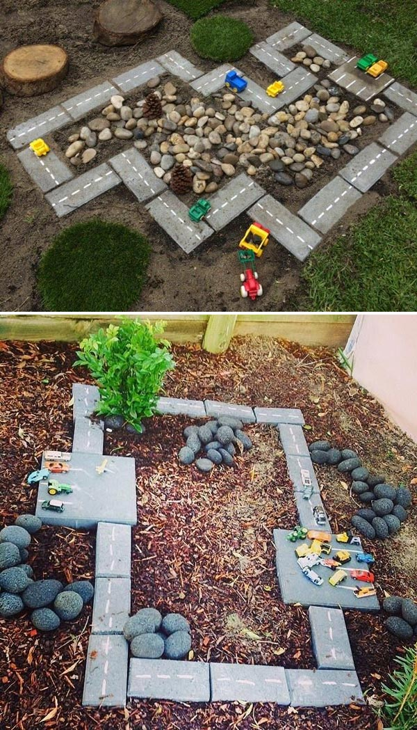 SPR AMBAR Bahçe Mobilyaları BAHÇEDE YARIŞ PİSTİ Mİ! sprambar bahçe mobilyası bahçe mobilyaları yarış pisti bahçe fikirleri çocuk