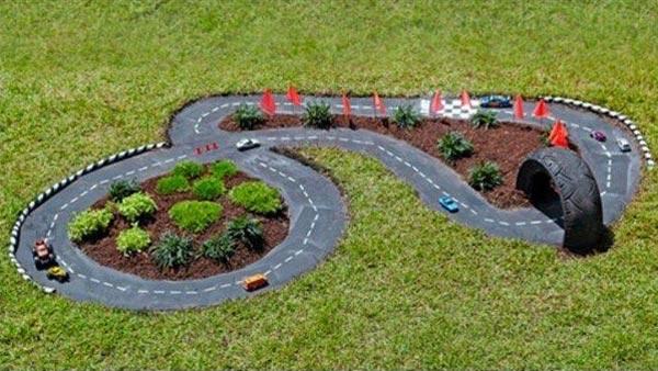 SPR AMBAR Bahçe Mobilyaları BAHÇEDE YARIŞ PİSTİ Mİ! (3) SPR AMBAR Bahçe Mobilyaları BAHÇEDE YARIŞ PİSTİ Mİ! sprambar bahçe mobilyası bahçe mobilyaları yarış pisti bahçe fikirleri çocuk