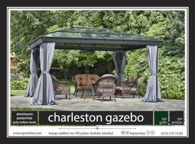 SPR AMBAR bahçe mobilyaları charleston gazebo