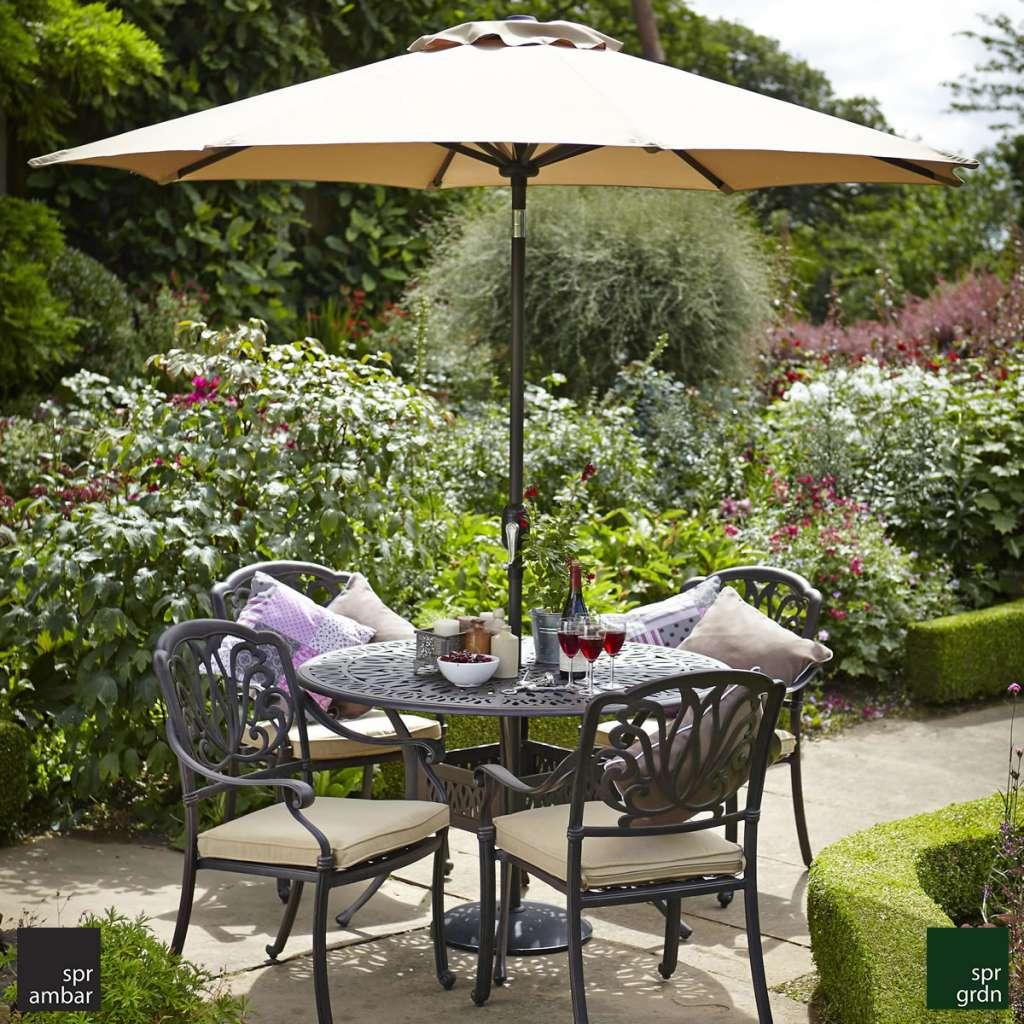 HAFTANIN ÜRÜNÜ SPR AMBAR bahçe mobilyaları cast aluminyum bahçe mobilyası SPRING yuvarlak masa bahçe paslanmaz indirim kampanya 40 delüx bronz ergonomik klasik zarif şık bahçe keyfi teras balkon cafe restaurant